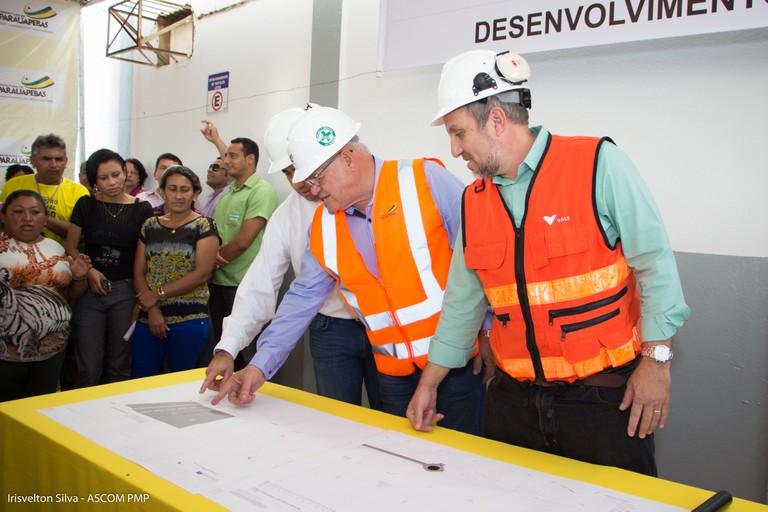 Prefeitura e Vale oficializam início de obra da duplicação da estrada Faruk Salmen