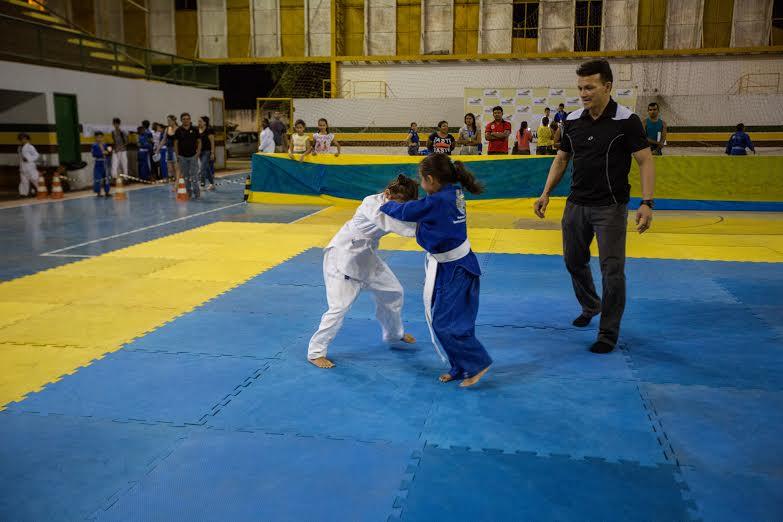 Festival de Judô da Semel reúne 130 atletas e emociona pais
