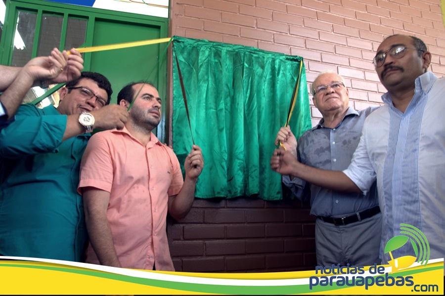 Inauguração o pronto socorro municipal Teófilo Soares