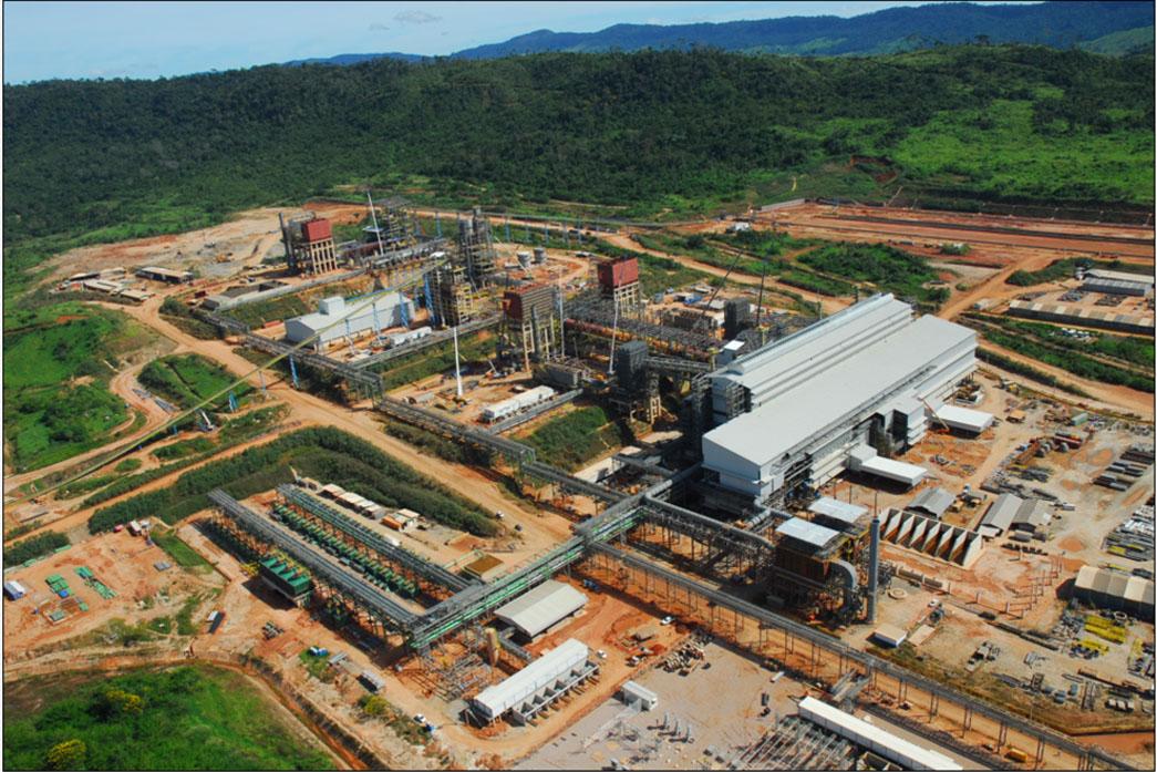 Vale mantém planta de processamento em operação em mina de níquel no Pará
