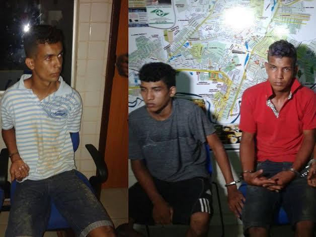 Parauapebas: Assaltantes presos são reconhecidos por suas vítimas