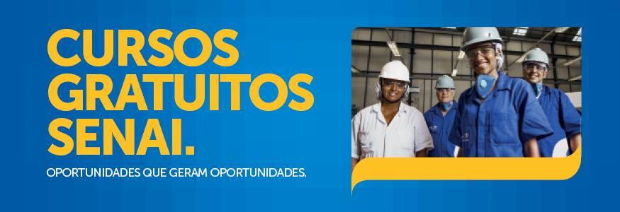 Parauapebas: Cursos gratuitos são oferecidos pelo Senai Parauapebas neste mês de junho