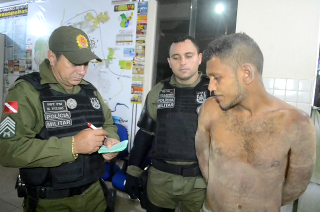 Parauapebas: Homem é preso furtando cimento no residencial Alto Bonito