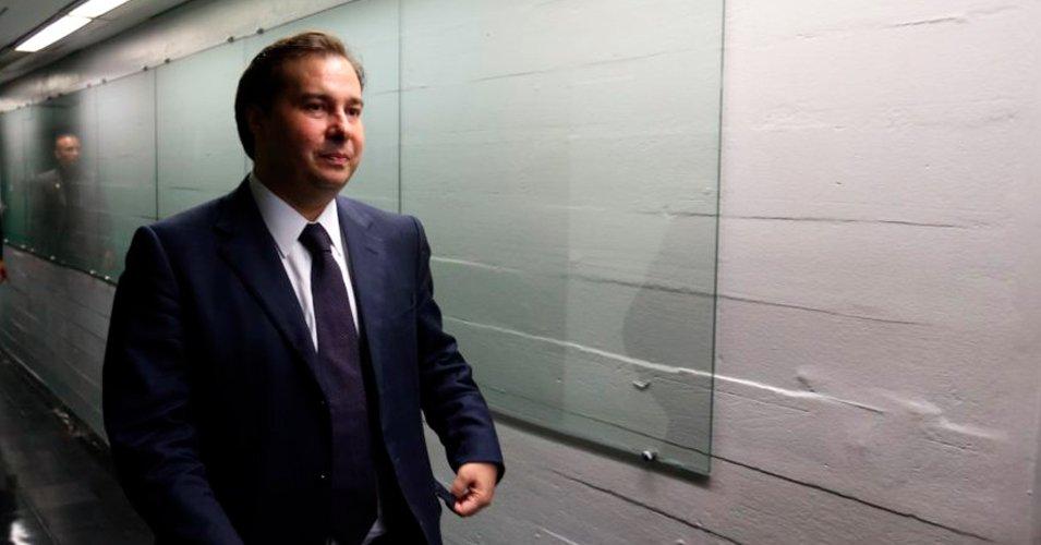 Rodrigo Maia do DEM é eleito novo presidente da Câmara