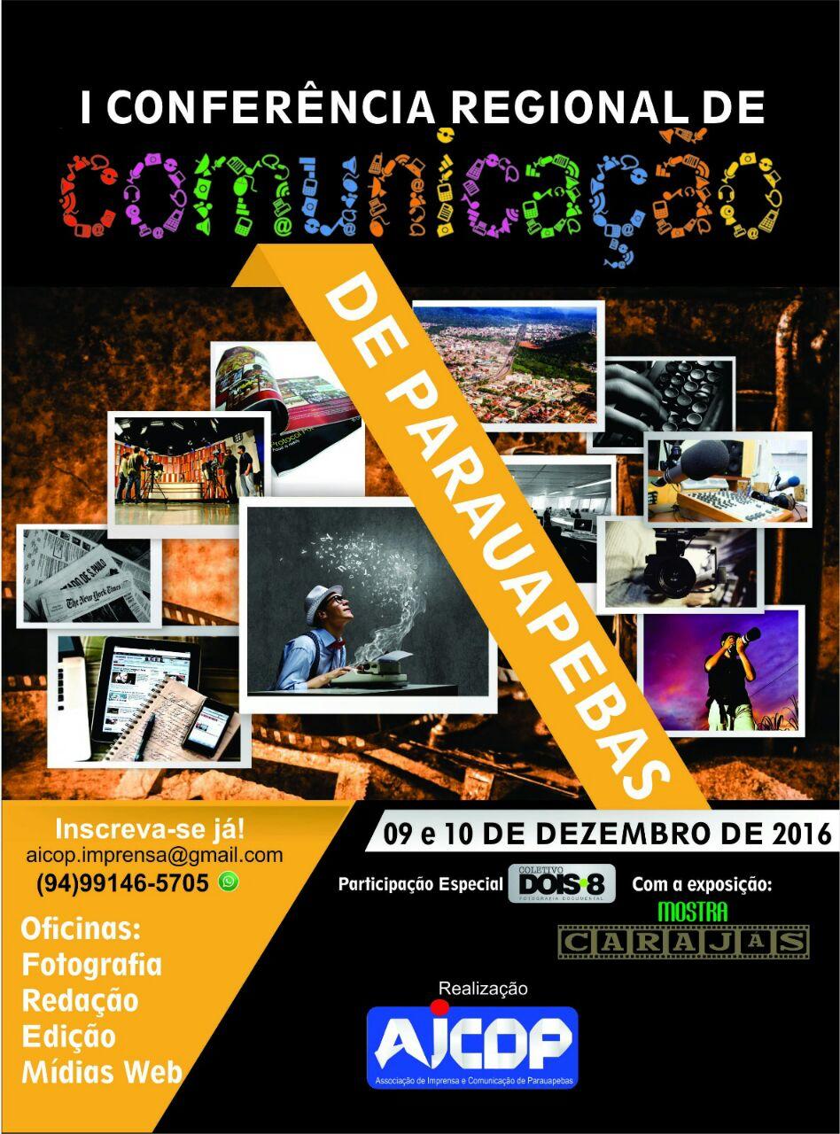 AICOP realizará I Conferência Regional de Comunicação em Parauapebas