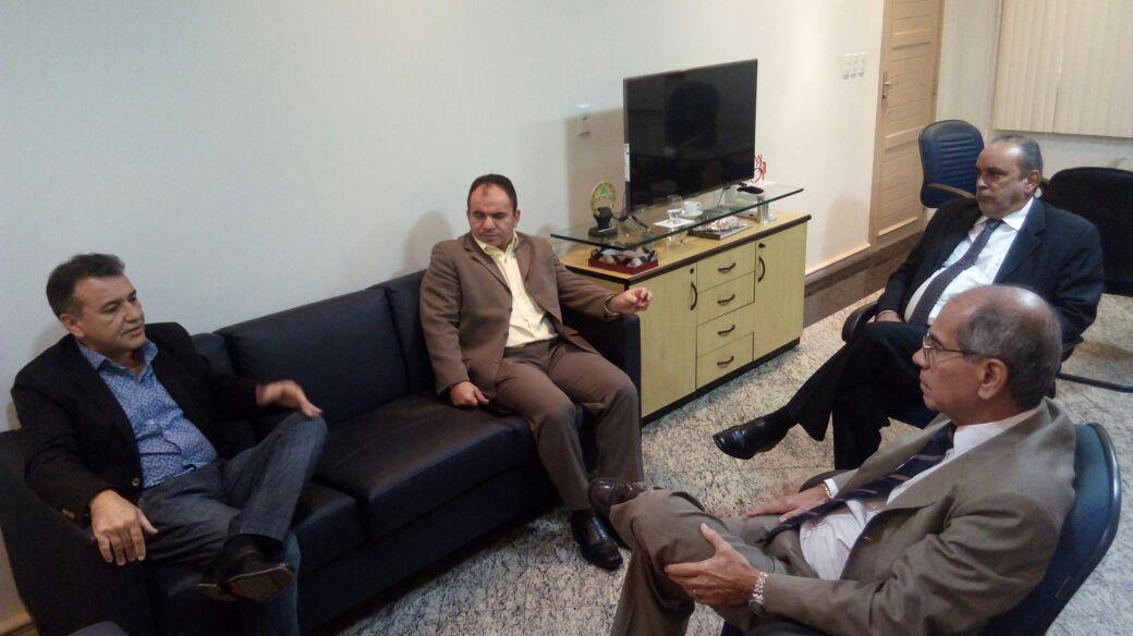 Deputado estadual Gesmar se reúne com o secretario de segurança e cobra a construção de mais uma delegacia e a retomada das obras do presídio em Parauapebas