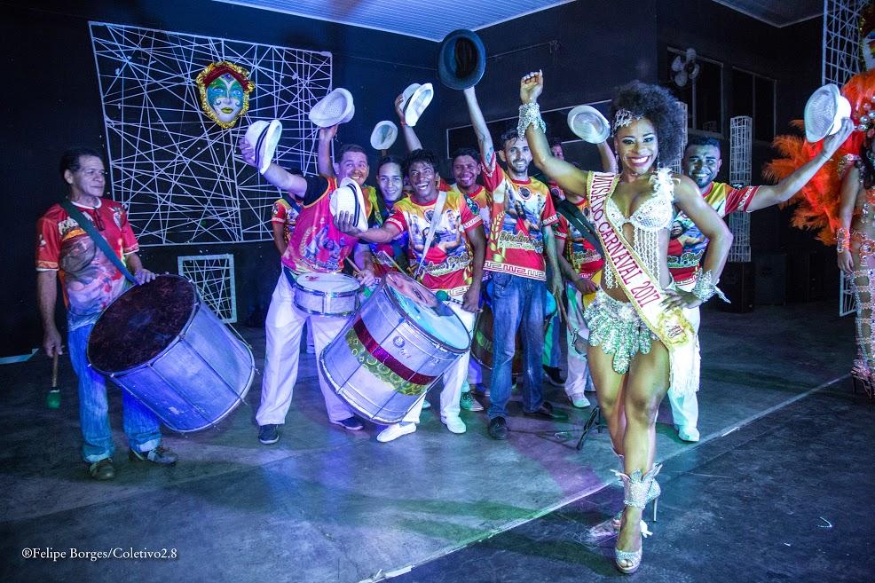 Mayara Maciel é musa do Carnaval de Parauapebas 2017