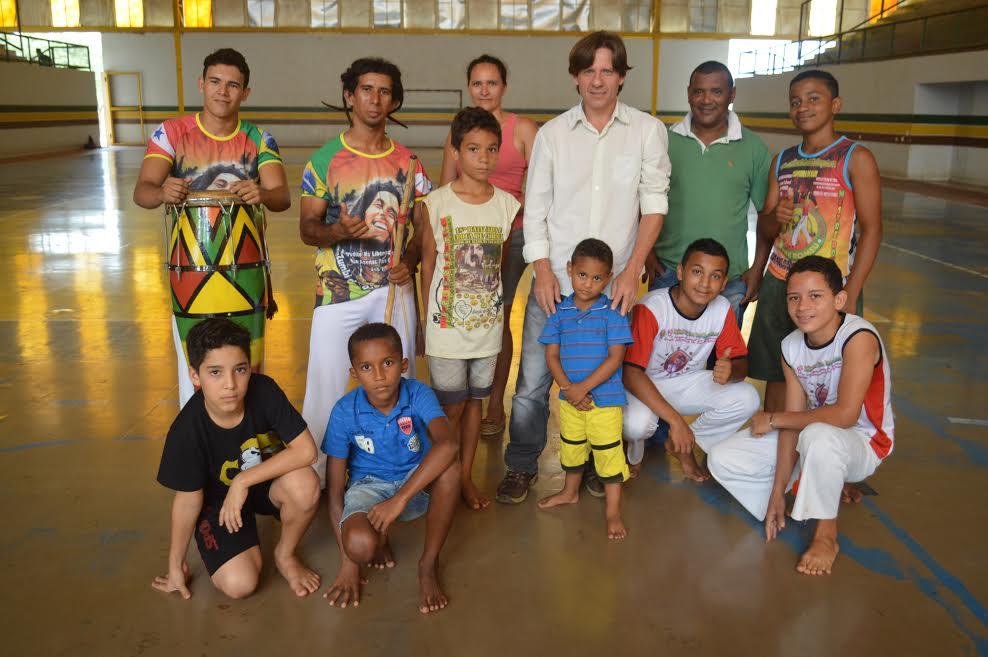 Encontro internacional de capoeira terá representantes de Parauapebas