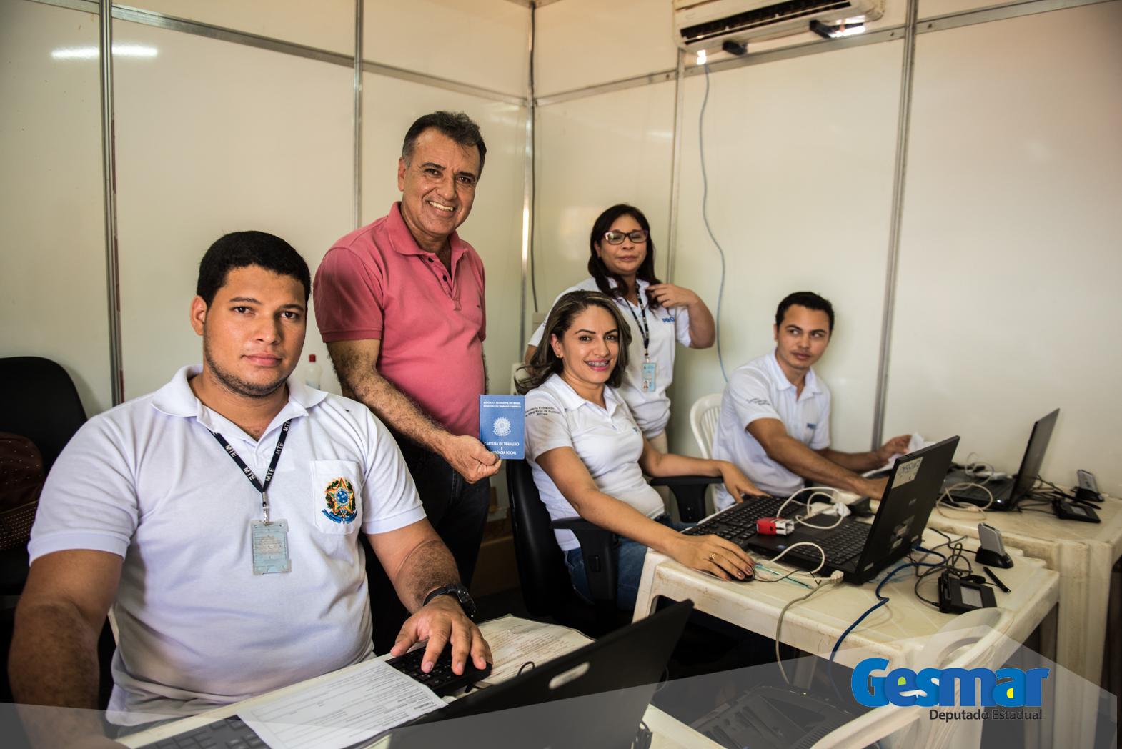 Deputado estadual Gesmar Costa viabiliza a vinda do Pro Paz para a FAP 2017