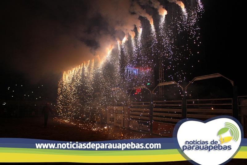 Show de Amado Batista encerra com chave ouro programações da FAP 2017