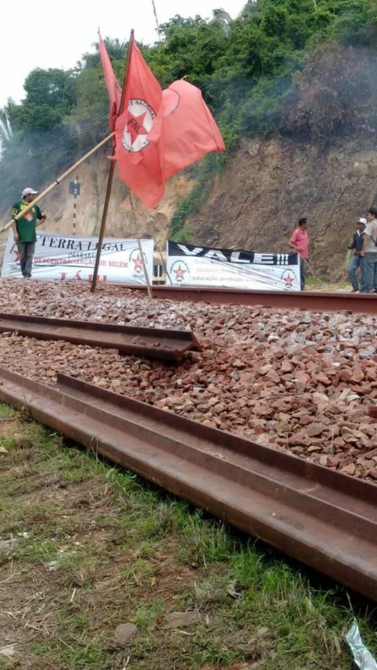 Mineradora Vale diz interdições do FNL causa prejuízos ao
