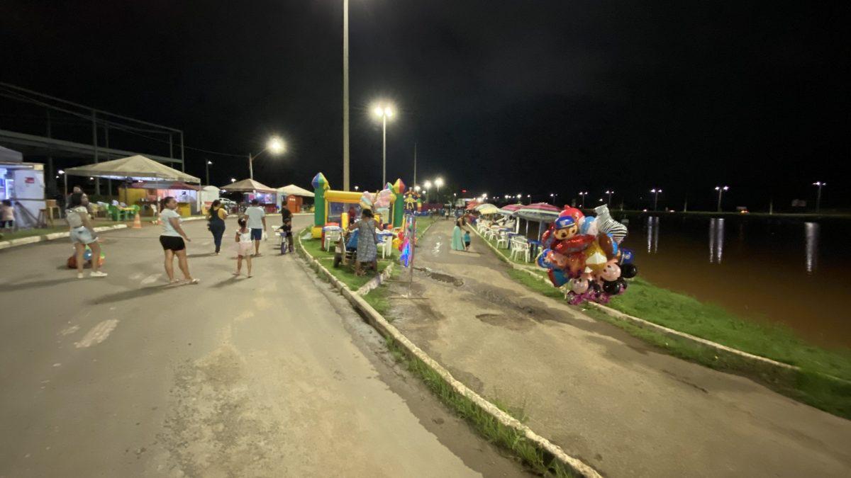 Lago do bairro Nova Carajás  volta a ser atrativo e vira 'point' em Parauapebas