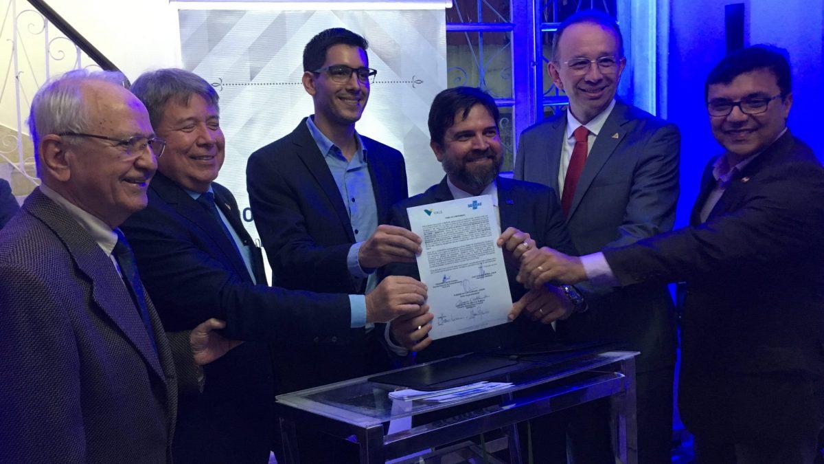 Vale e Sebrae assinam convênio de cooperação técnica e financeira