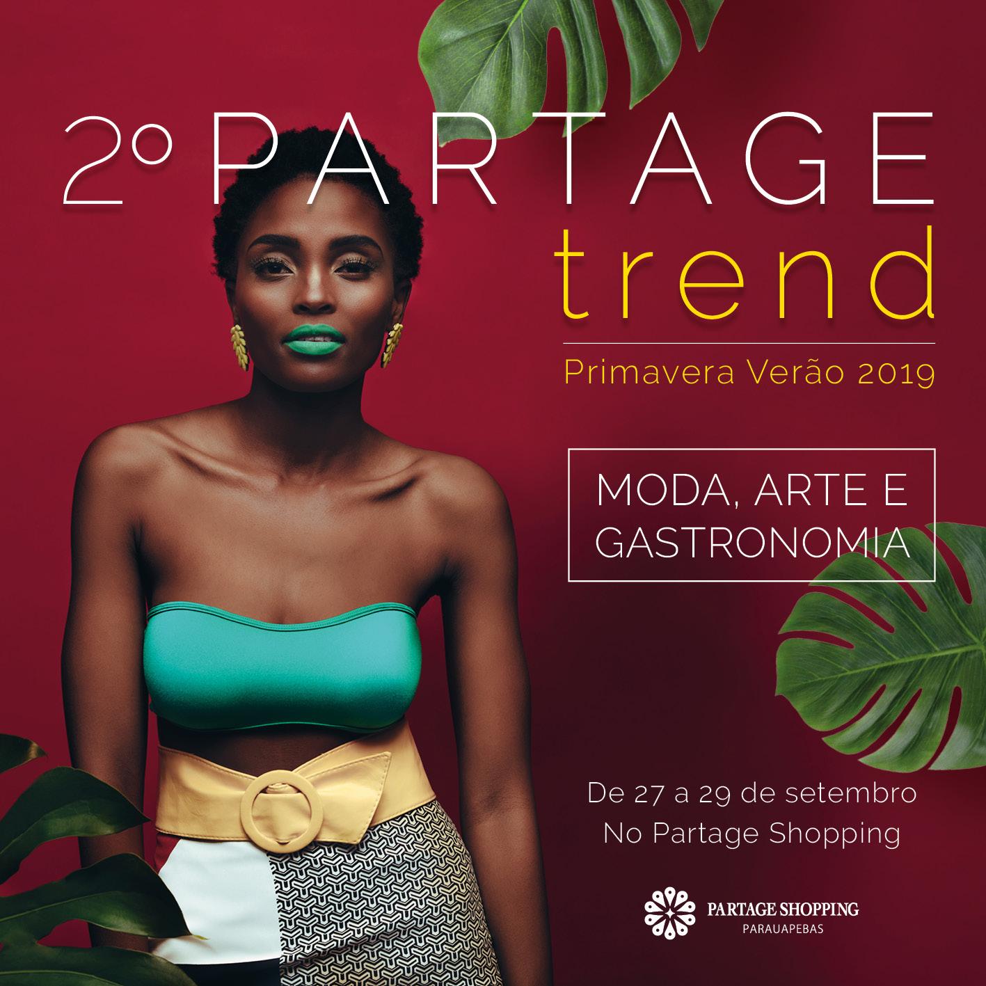 Partage Shopping Parauapebas realiza segunda edição da semana de moda, arte e gastronomia