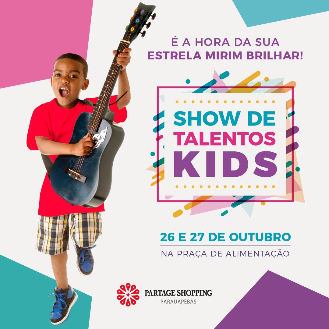 Partage Shopping Parauapebas promove semifinal do Show de Talentos Kids
