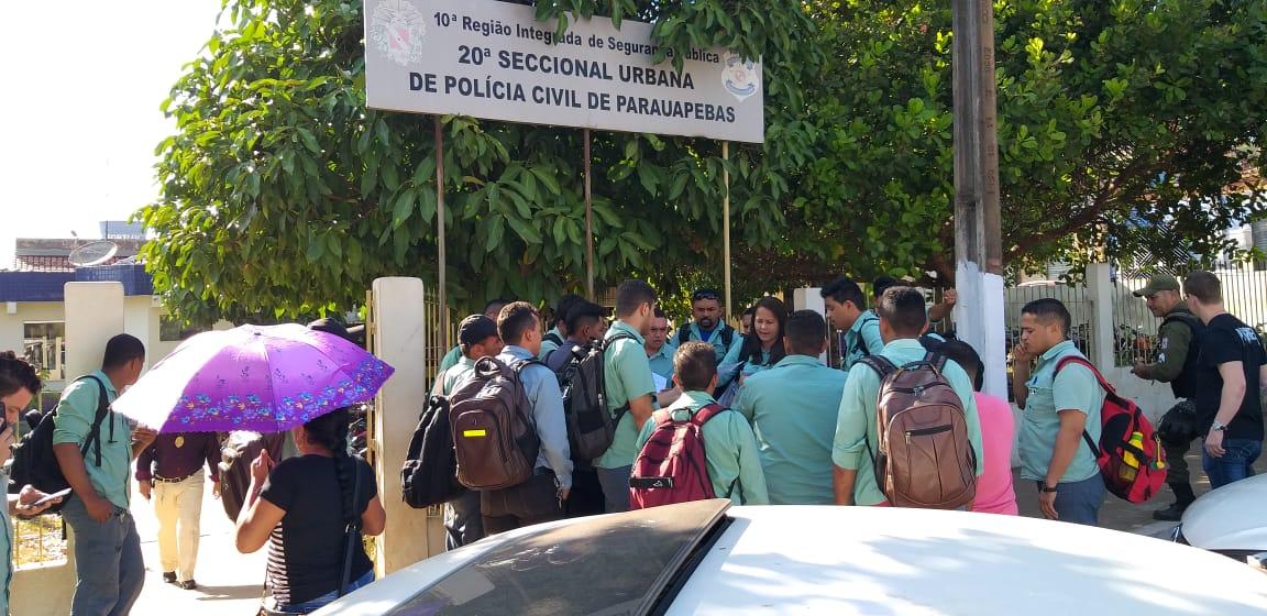 Ônibus com funcionários da Vale é assaltado em Parauapebas e toda a ação é filmada