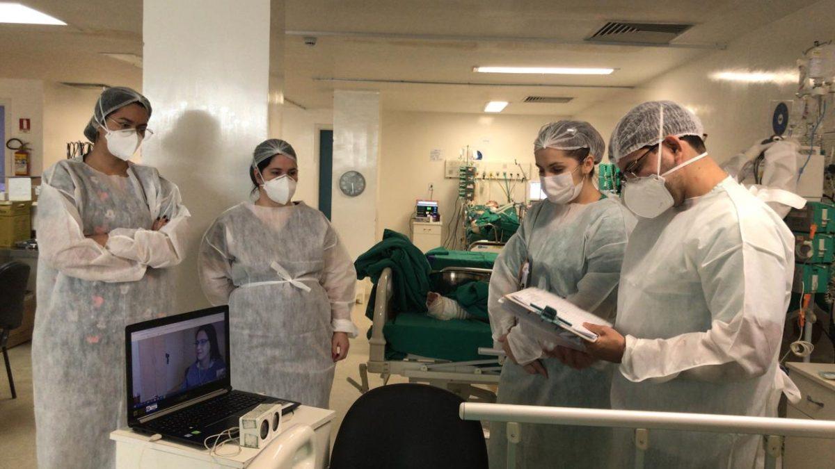 Projeto de Tele-UTI já está disponível para ajudar médicos do Hospital Geral de Parauapebas nos atendimentos de diagnóstico para a Covid-19