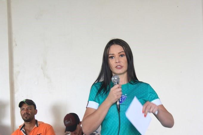 Alice Rodrigues lança pré -candidatura em Parauapebas