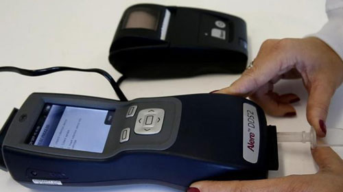 Detran testa 'drogômetro' para identificar consumo de drogas