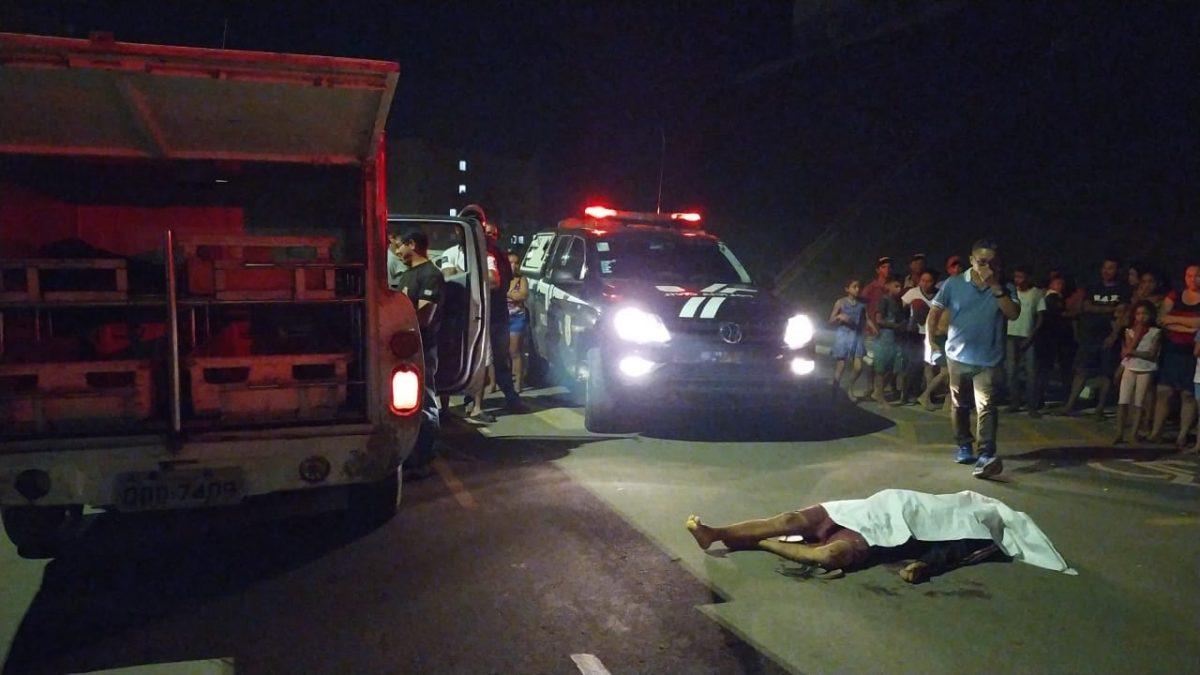 Assassino com mascara de palhaço executa adolescente no Residencial Alto Bonito