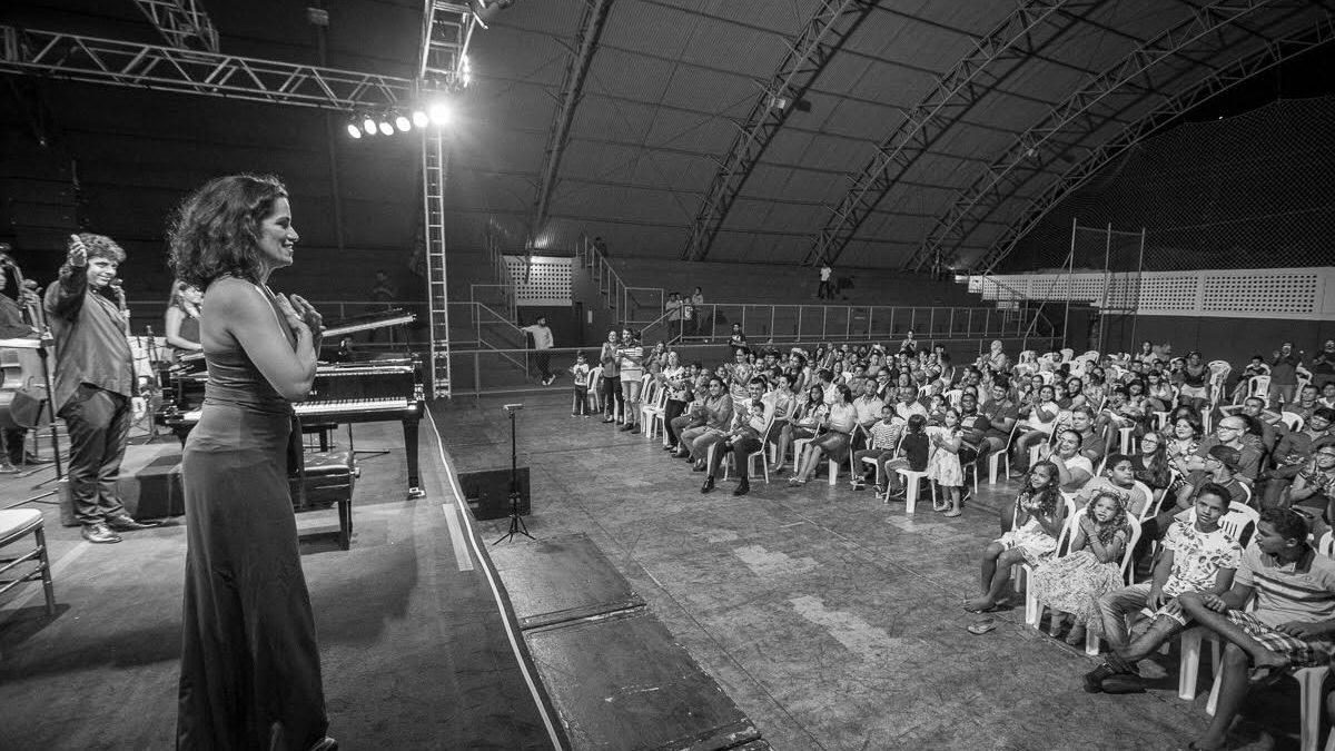 Concerto em Marabá encerra turnê de orquestra itinerante