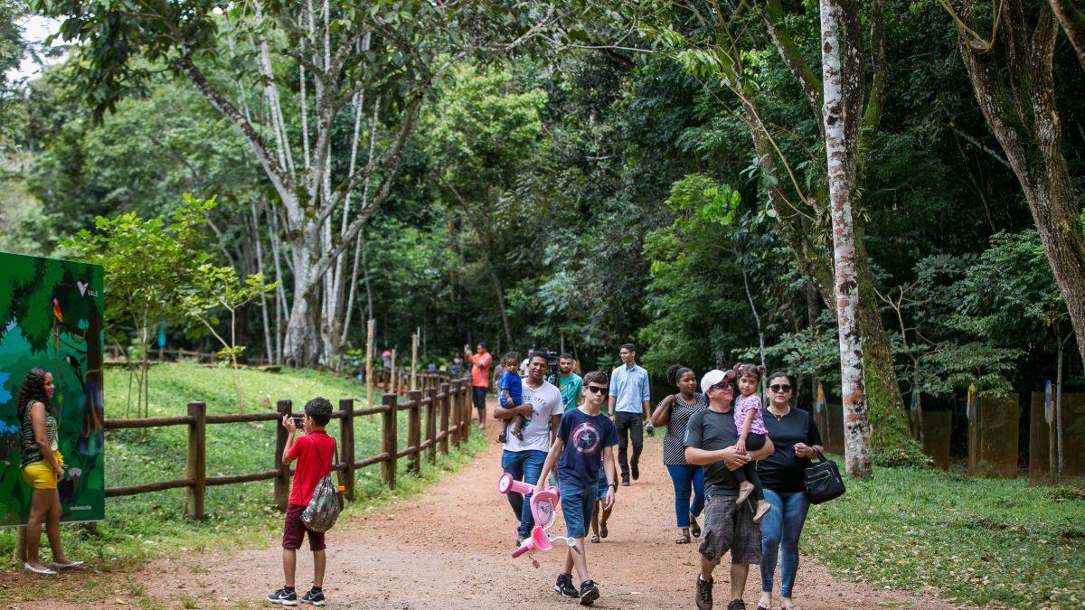 Comemoração de aniversário do Parque Zoobotânico reúne cerca de 3 mil pessoas