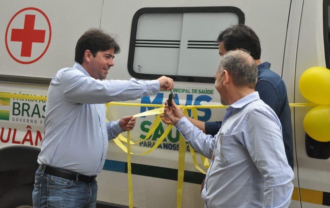 Hospital Geral de Parauapebas ganha mais uma ambulância