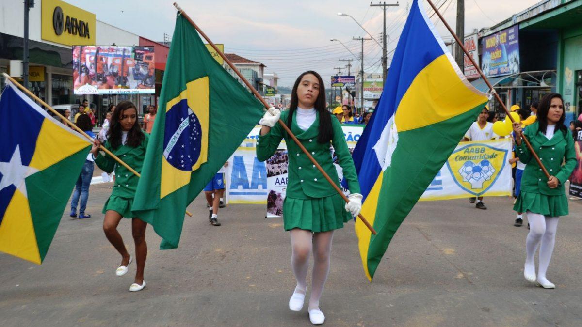 Desfile Cívico de 7 de Setembro ocorre neste sábado na Praça de Eventos em Parauapebas