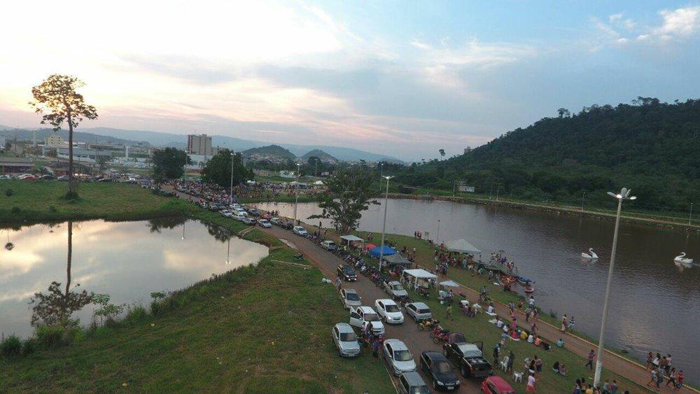 Vereador pede banheiros e praça de alimentação no Lago do Nova Carajás