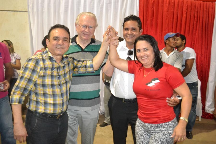 Comunidade prestigia lançamento da pré-candidata Ângela Pereira