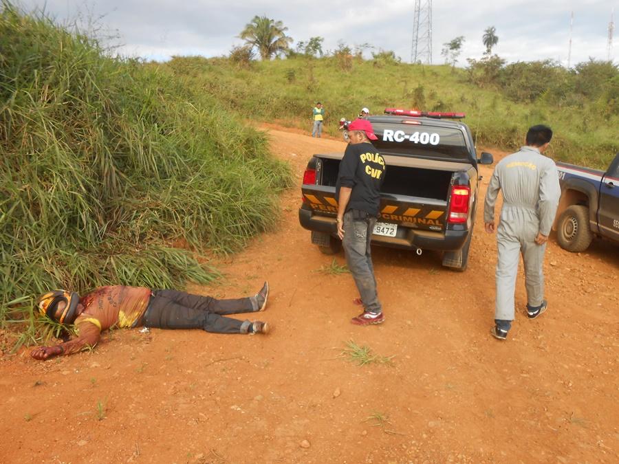 Mototaxista é assassinado na estrada de acesso à Praça da Bíblia