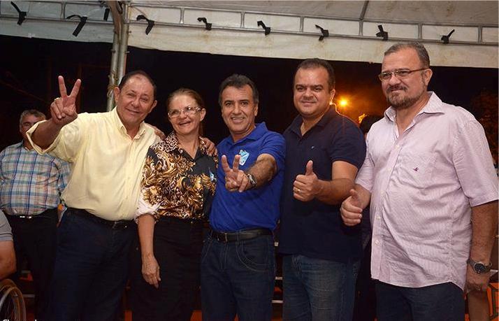 Gesmar Rosa Inaugura comitê em Canaã dos Carajás