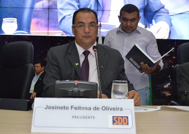 Vereador Josineto Feitosa afirma que não vê motivos para a Polícia Federal ir à Câmara