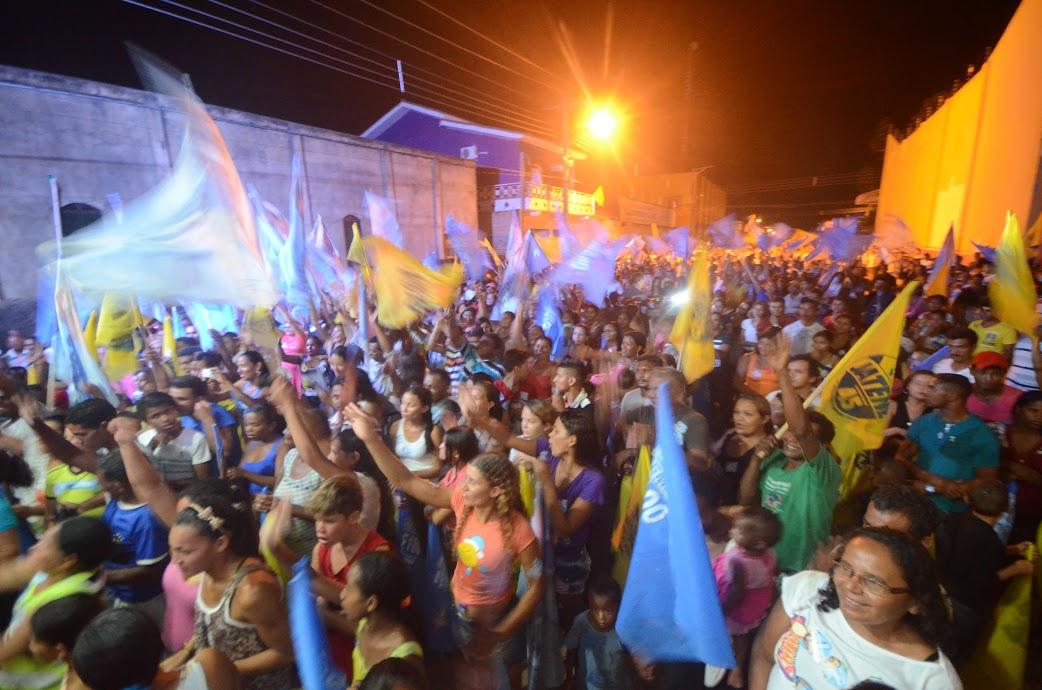 Gesmar realiza comício com recorde de público  em Itupiranga