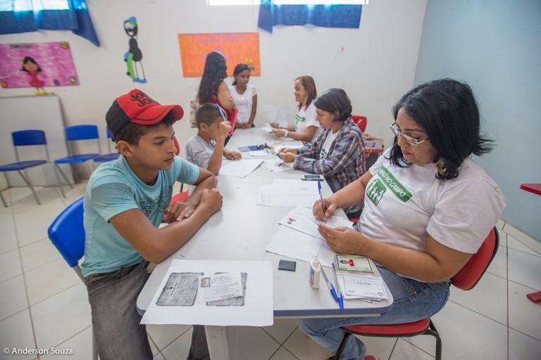 Serviços de assistência social são levados à comunidade rural do PA Carlos Fonseca
