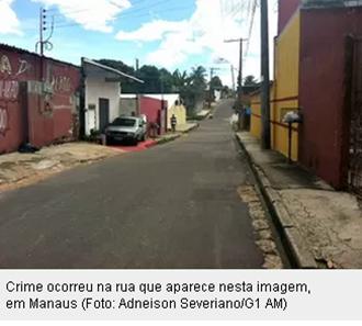 Polícia de Manaus tem imagens do momento do assassinato do advogado Jakson Silva