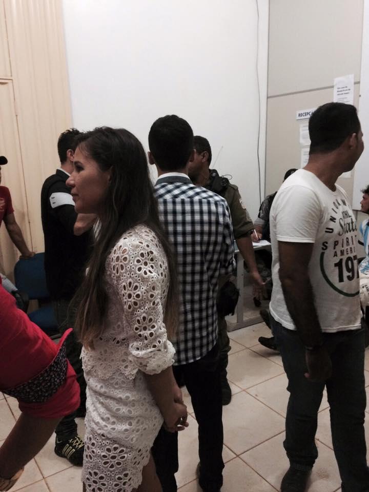Fotos de vitimas na Delegacia Civil de Parauapebas -  Fontes : Grupo do WatsAPP Noticias de Parauapebas