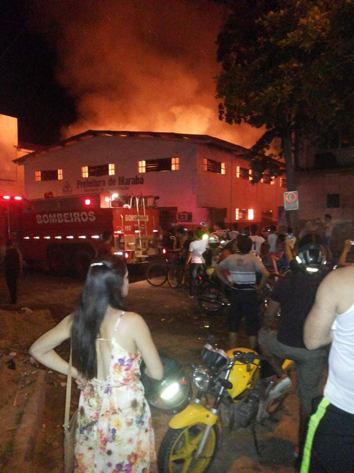 Prefeitura de Marabá, através da ASCOM emite nota sobre o  incêndio que destruiu documentos do Arquivo Municipal