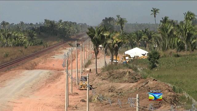 Homem morre atropelado por trem na Estrada de Ferro Carajás