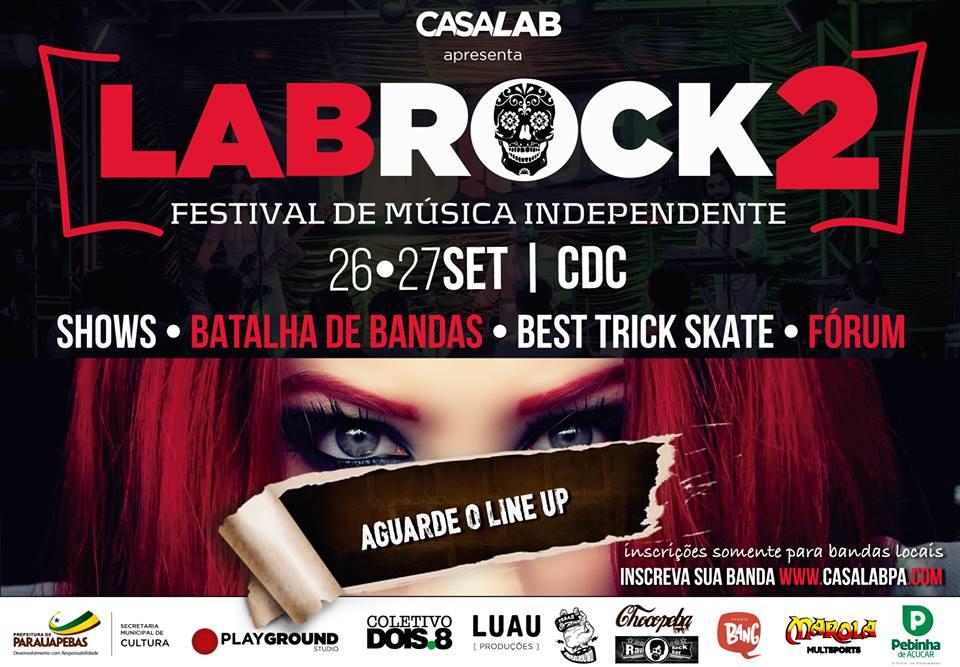 FESTIVAL LABROCK INCENTIVA A PRODUÇÃO DE ROCK AUTORAL EM PARAUAPEBAS