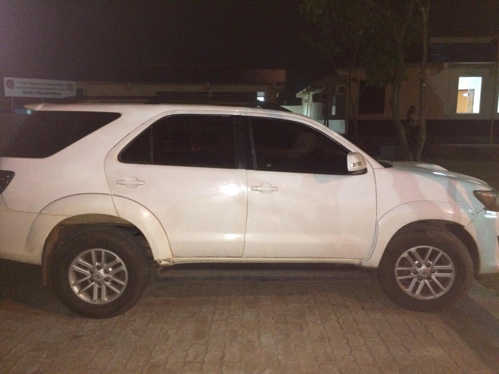 Polícia Civil de Parauapebas apreende veículo de luxo com sinais identificadores adulterados.