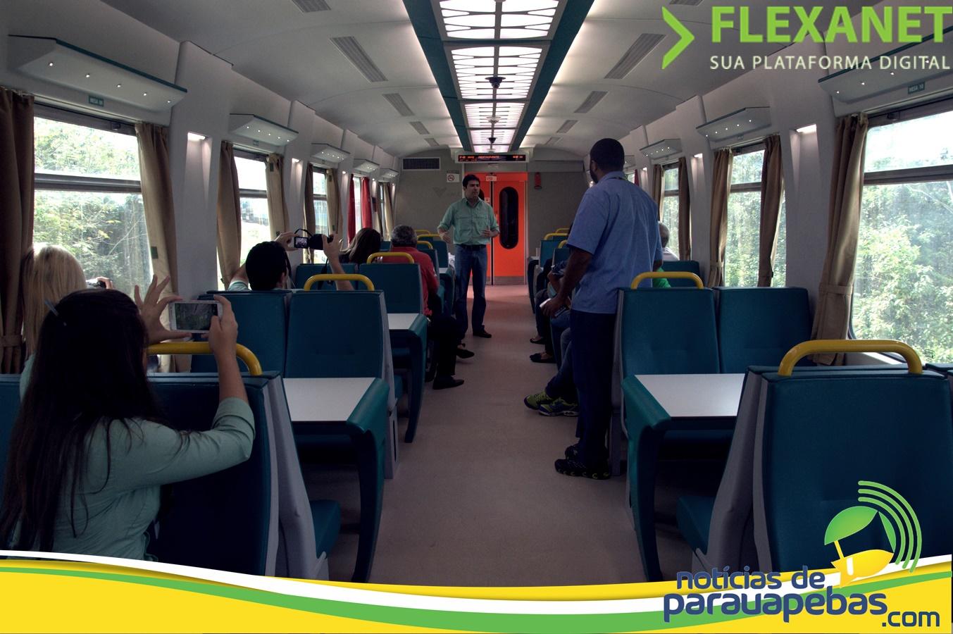 Novo trem de passageiros da EFC começa a operar em setembro