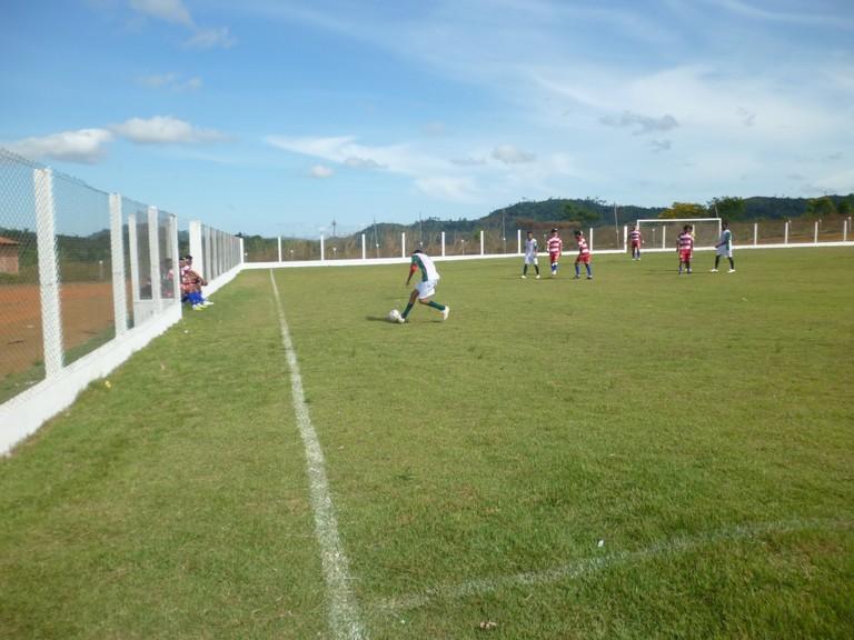 Campeonato Rural de Futebol de Campo iniciou no domingo (11)
