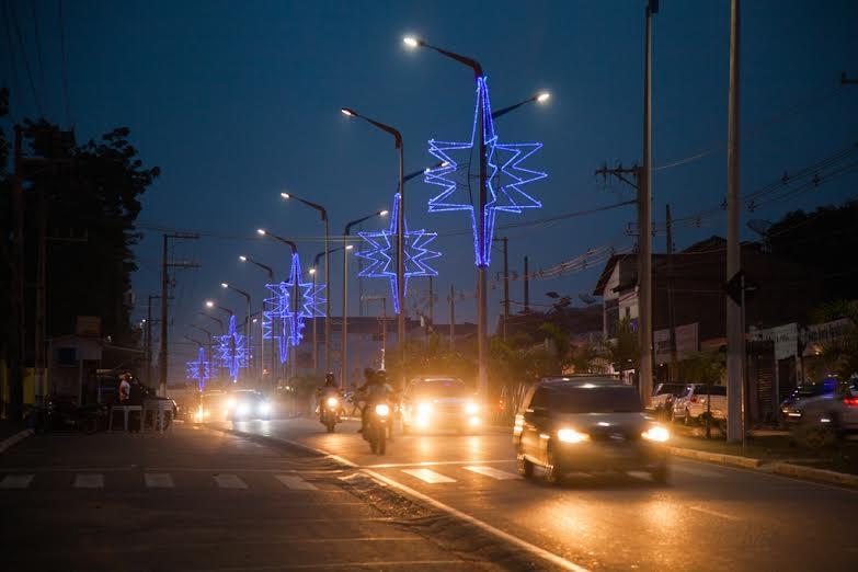 Decoração natalina: Avaliada em R$ 502 mil, a decoração já começa a iluminar Parauapebas para a chegada do natal