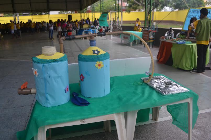 Mostra de experimentos científicos acontece em escola  pública de Parauapebas