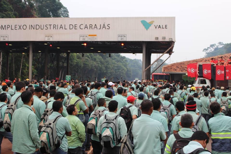 Mineradora Vale oferece contraproposta do acordo coletivo para funcionarios
