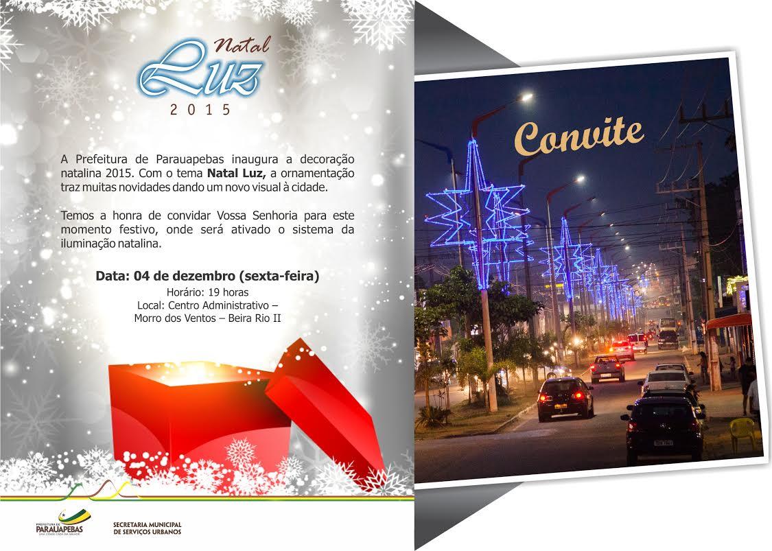 Prefeitura inaugura decoração natalina nesta sexta (04)