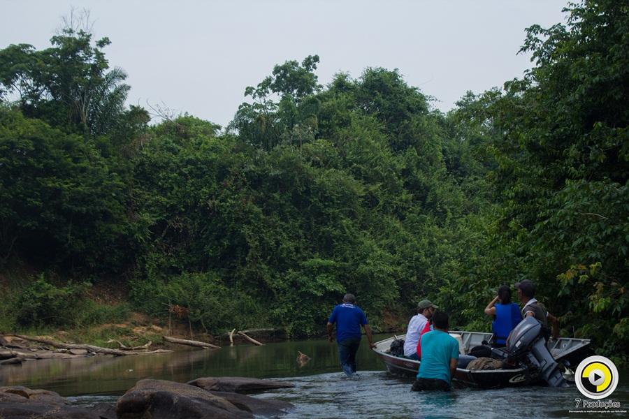 2ª etapa da Expedição Rio Vivo detecta sérios problemas ambientais no Rio Parauapebas