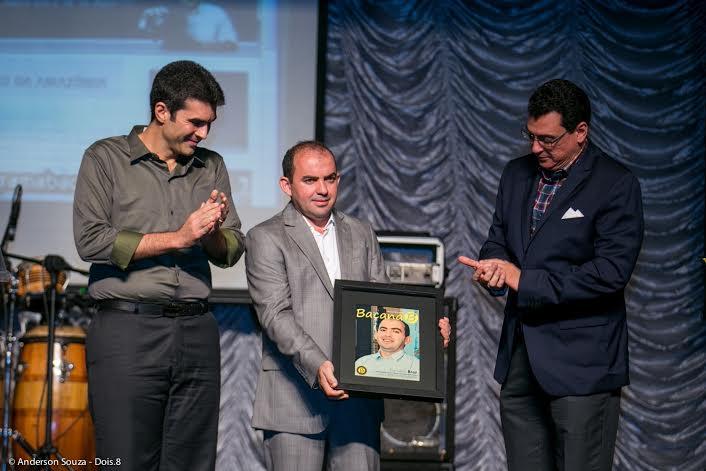 Vereador Braz é homenageado em Belém pela Revista Bacana