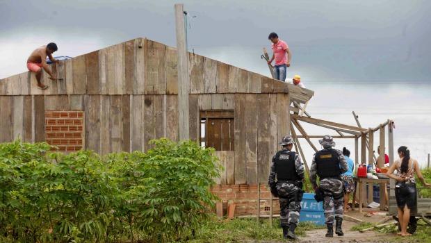 Operação de reintegração de posse começa no sul do Pará